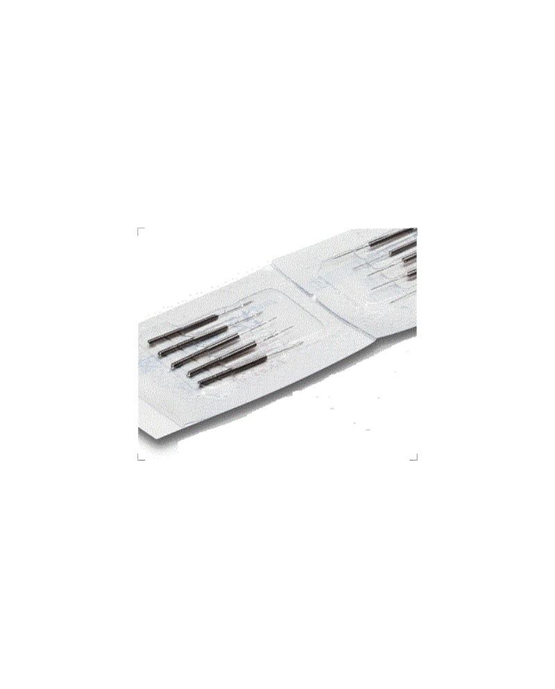 AGUJAS ACUPUNTURA 0.18 mm X 7 mm 100 UNID