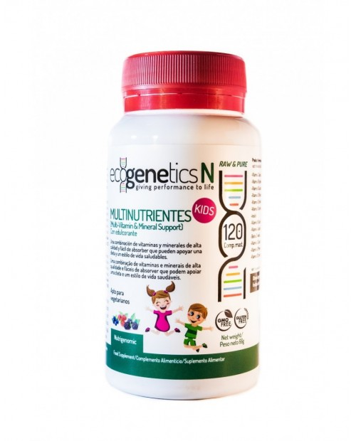 MULTINUTRIENTES KIDS 120 CAP ECOGENETICS