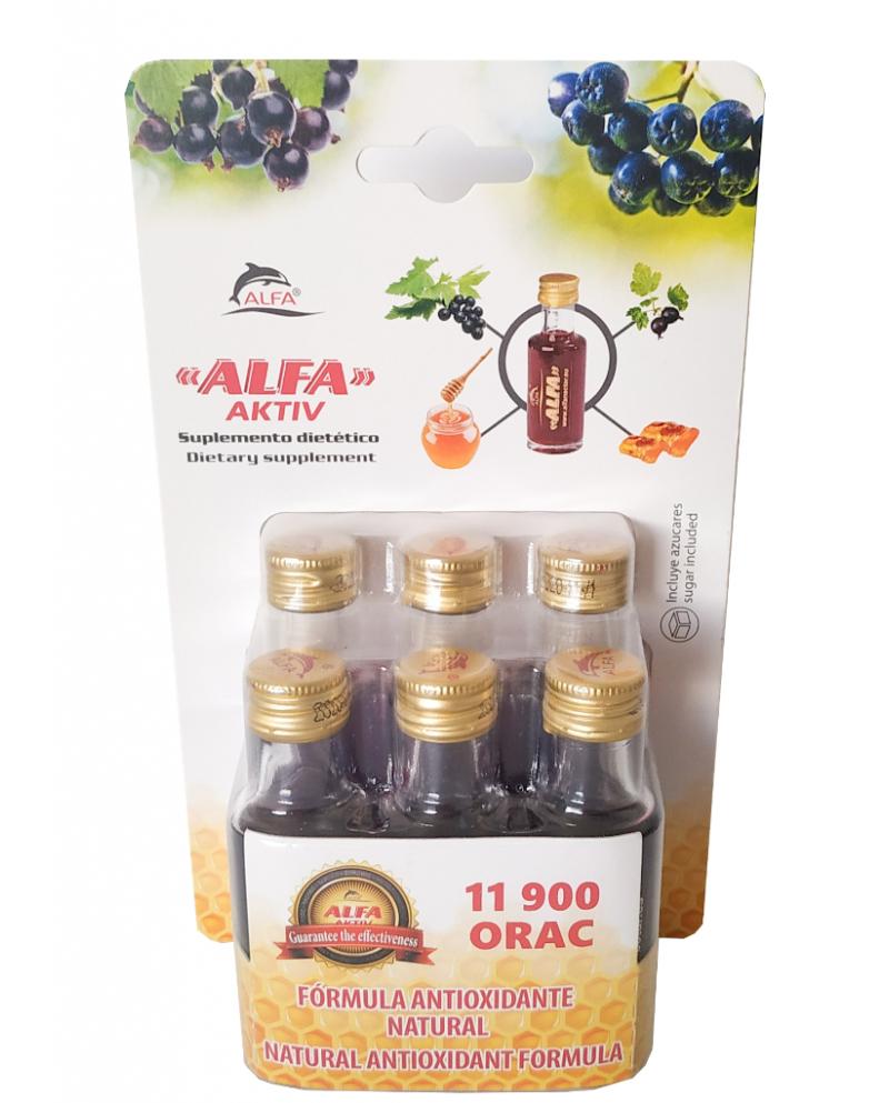 ALFA NECTAR blister 6 botellas