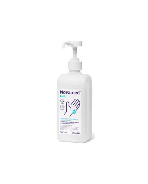 GEL ANTISEPTICO NOVAMED 500 ML CON DOSIFICADOR