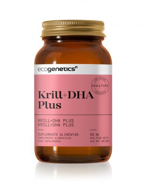 KRILL + DHA PLUS 60 perlas Ecogenetics