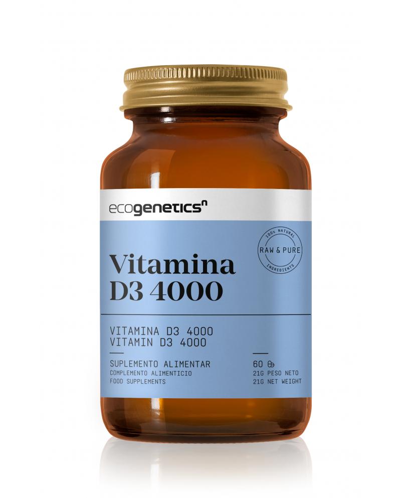 VITAMINA D3 4000iu 60CAP ECOGENETICS