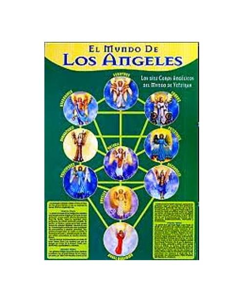 LAMINA EL MUNDO DE LOS ANGELES A4